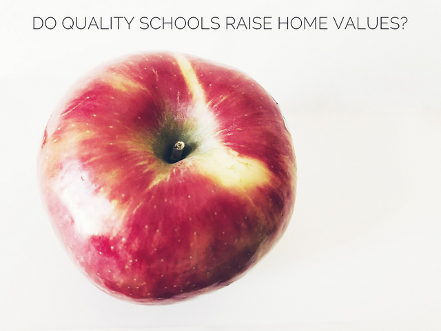 How Does School Quality Affect Home Prices?